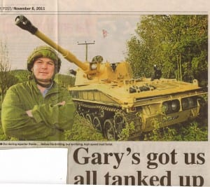 sunday post picture Gary Tank Commander