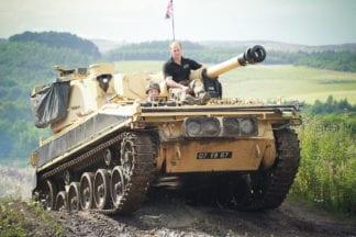 Tank Driving Fun